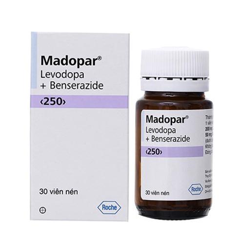 Thuốc Madopar 250mg (Hộp 30 viên)