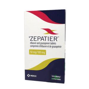 Thuốc Zepatier 100mg giá bao nhiêu