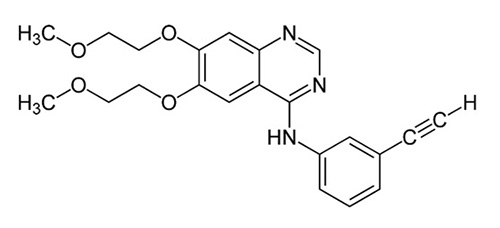 Cấu trúc của Erlotinib