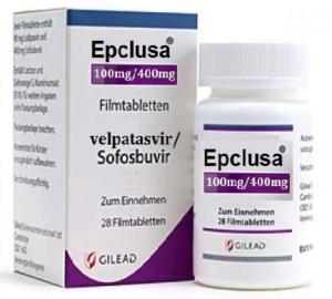 Thuốc Epclusa 400mg/100mg hộp 28 viên