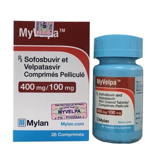 Thuốc Myvelpa (hộp 28 viên)
