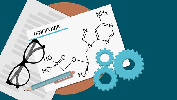 Cơ chế hoạt động của Tenofovir disoproxil fumarat