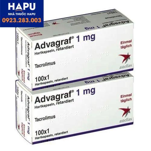Thuốc Advagraf giá bao nhiêu