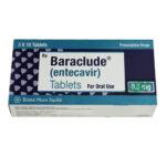 Thuốc Baraclude nhập khẩu chính hãng Mỹ