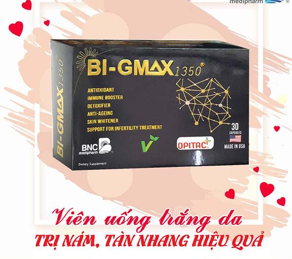 Viên uống trắng da Bi-Gmax 1350