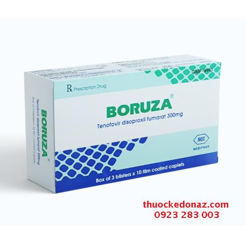 Thuốc Boruza (Tenofovir disoproxil fumarate 300mg)