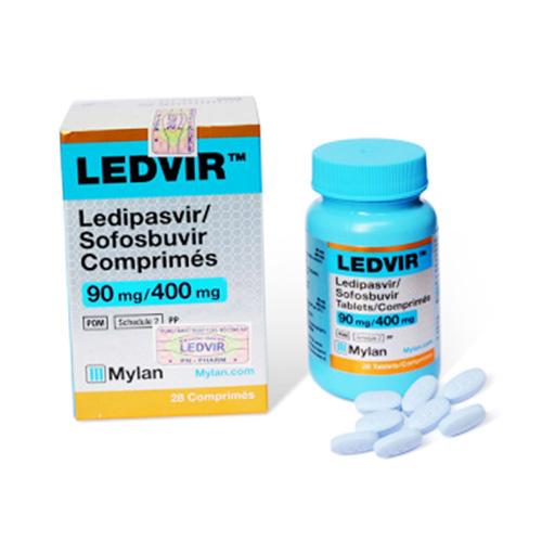 Thuốc Ledvir điều trị viêm gan C