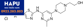 Cấu trúc Dasatinib