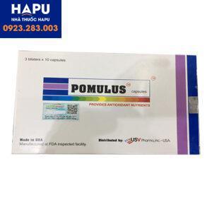 Tác dụng phụ thuốc Pomulus