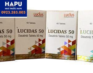 Thuốc Lucidas xách tay chính hãng
