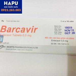 Mua thuốc Barcavir 0.5mg chính hãng giá tốt nhất ở đâu?