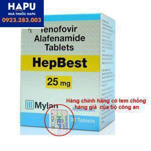 Thuốc Hepbest chính hãng