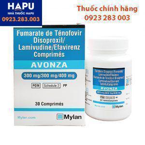 Thuốc Avonza - Thuốc điều trị HIV (Hộp 30 viên)