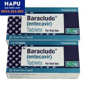 Giá thuốc Baraclude 0 5mg bao nhiêu? Mua thuốc Baraclude 0.5mg ở đâu?