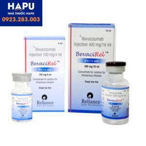 Thuốc Bevacirel 100mg/4ml và 400mg/16ml