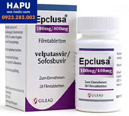 Thuốc Epclusa 400mg/100mg chính hãng giá bao nhiêu mua ở đâu hà nội