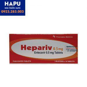 Thuốc Hepariv 0 5mg giá bao nhiêu