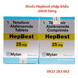Thuốc Hepbest nhập khẩu chính hãng Mylan phân biệt giả