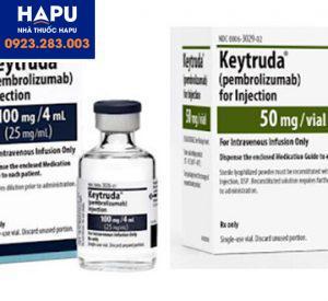Thuốc Keytruda 50mg và 100mg/4ml (Pembrolizumab)
