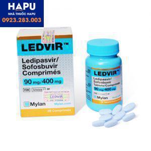 ledvir 90mg/400mg giá bao nhiêu