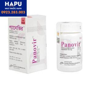 Thuốc Panovir 100mg/400mg - Thuốc điều trị viêm gan C mãn tính (Hộp 28 viên)