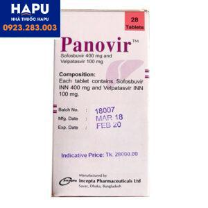 Thuốc Panovir giá bao nhiêu