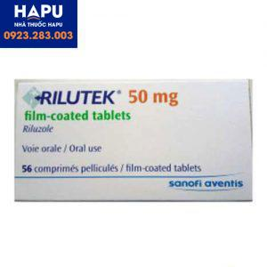 thuốc Rilutek 50mg giá bao nhiêu