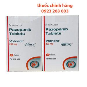 Thuốc Votrient 200mg - Pazopanib 200mg