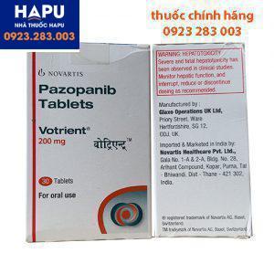 Thuốc Votrient 200mg là thuốc gì? Cách dùng, giá bán bao nhiêu?