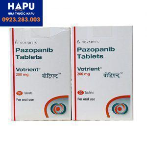 Thuốc Votrient 200mg là thuốc gì?