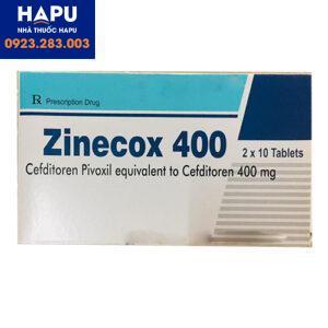 Thuốc Zinecox 400mg - Cefditoren 400mg