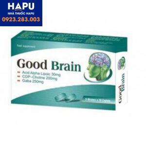 Thuốc Good Brain – Thực phẩm bổ dưỡng trí não