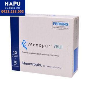 Thuốc Menopur 75IU_600IU_1200IU – Gonadotrophin