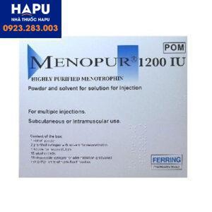 Thuốc Menopur giá bao nhiêu