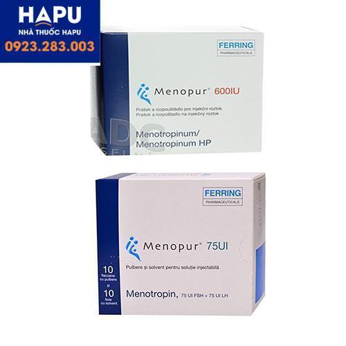 Thuốc Menopur là thuốc gì