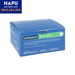 Thuốc Orthomol Fertil Plus giá bao nhiêu