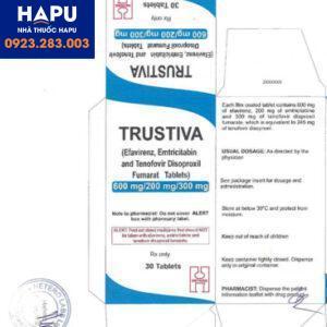 Thuốc Trustiva nhập khẩu chính hãng
