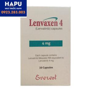Tác dụng phụ của thuốc Lenvaxen