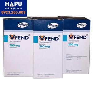 Tác dụng phụ của thuốc Vfend