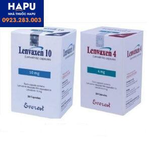 Thuốc Lenvaxen 4mg, 10mg - Lenvatinib 4mg, 10mg