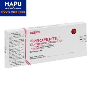 Thuốc Profertil 50mg - Clomiphene citrat 50mg