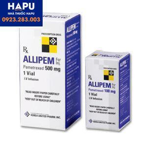 Thuốc Allipem 500mg - Pemetrexed 500mg