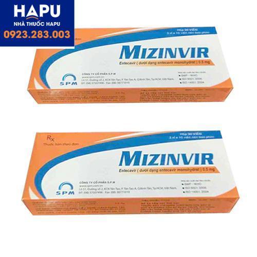 Thuốc Mizinvir nhập khẩu chính hãng