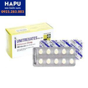 Thuốc Unitrexates 2,5mg - Methotrexate 2,5mg