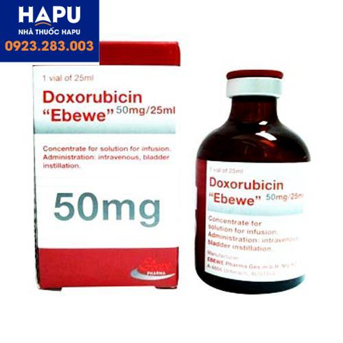 Tác dụng phụ thuốc Doxorubicin Ebewe