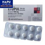 Tác dụng phụ thuốc Etopul