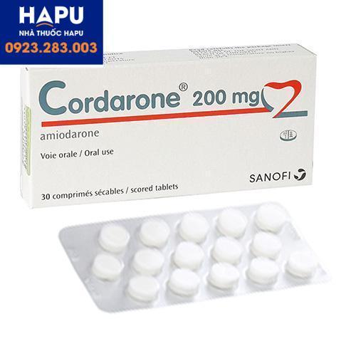 Thuốc Cordarone nhập khẩu chính hãng