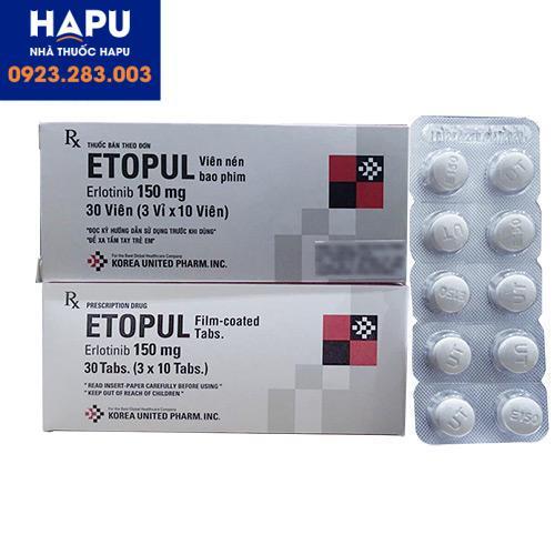 Thuốc Etopul 150mg – Erlotinib 150mg