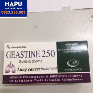 Thuốc Geastine 250mg – Gefitinib 250mg