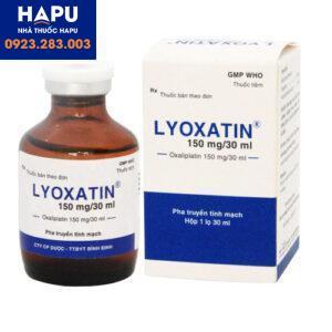 Thuốc Lyoxatin 150mg_30ml – Oxaliplatin 150mg